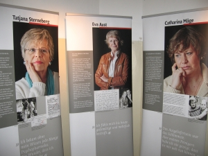 Ehem. Hoheneckerinnen: Tatjana Sterneberg, Eva Aust, Katharina Mäge - Foto. LyrAg