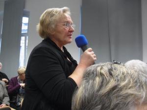 Angelika Barbe, hier auf einer UOKG-Veranstaltung - Foto: LyrAg