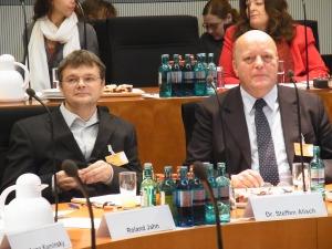 Sachverständige: Dr. Steffen Alisch und Hugo Diederich (VOS), von links nach rechts - Foto: LyrAg