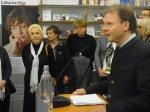 Begrüßung: Regina Labahn, catgarina Mäge, Inge Naumann, Direktor Dr.Bernd Heidenreich, Maggie Riepl und Dirk v. nayhauss (verdeckt, v.l.n.r.)