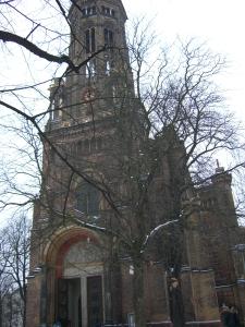 Ausstellung in einem historischen Bauwerk:Zionskirche in Mitte