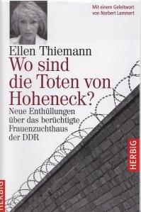 """Sacharbeit: Zum Beispiel die quälende Frage von Ellen  Thiemann beantworten: """"Wo sind die Toten von Hoheneck?"""""""
