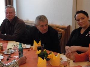 Auch BStU-Chef Roland Jahn war zum Treffen angereist und hörte aufmerksam zu Foto. LyrAg