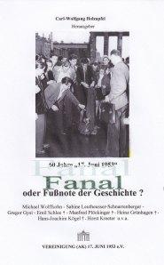 Titel unserer Schrift zum 60. Jahrestag © 2013 c.w.holzapfel