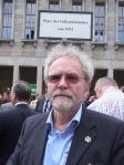 Am Ziel: Carl-Wolfg. Holzapfel, der 2005 neun Tage vor dem BMF in den Hungerstrei trat.