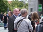 Strahlender VOS-Vorsitzeender: Hugo Diederich hatte 2005 den Hungerstreik unterstützt