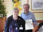 Die Goldene Ehrennadel 2013 für Edith Fiedler