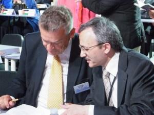 Otto Bernhard und Javad Dabiran vom NRWI (v.li.). Foto: LyrAg