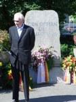 17er Horst Hertel gedenkt seiner Kameraden.