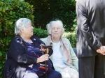 Veteraninnen Edith Fiedler und Renate Weiss