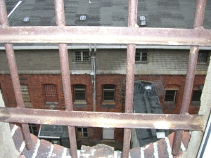 Einstiger trister Ausblick für die politischen Gefangenen von Hoheneck - Foto: LyrAg