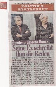 Harmloser Beitrag oder Stich ins Wespennest? - BILD vom 26.08.2013, Seite 2