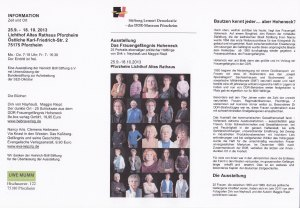 Ausstellung in  Pforzheim