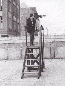 Herbert Ernst filmte das Sterben von  Peter Fechter - Foto: Lahrmann/Archiv: Ralf Gründer