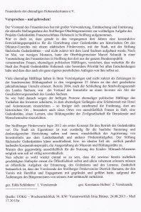 Von der UOKG verbreitet: Pressemitteilung des aufgelösten Vereins.
