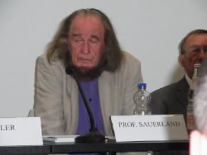 Aus Warschau: Prof.Dr. Karol Sauerland -        Foto: LyrAg