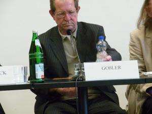 Günter Goßler berichtete von einer Wasserzelle im Raum Bitterfeld - Foto: LyrAg