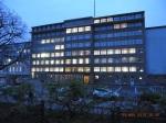 Im 6. Stock des einstigen MfS dauerte die VOS-Sitzung bis zum Einbruch der Dunkelheit an -             Foto: LyrAg