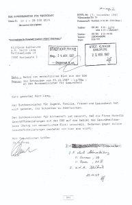 Das Wirtschaftsminis-terium hatte keine Bedenken gegen den Blut-Transfer aus der DDR - Dok. Dt. Bun- destag, Drs. 12/7600