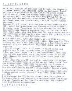 Flugblatt der DKP - Mutige Opposition oder rote Ideologie im  anderen Gewand? - Archiv 17. Juni