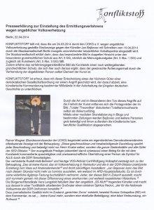 Die Presseerklärung des Textilanten J.B. (Seite 1)