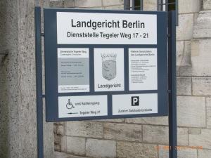 Vor dem Landgericht wurde der Widerspruch gegen eine Unterlassung durch Kerstin K. verhandelt -                   Foto: LyrAg