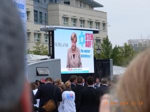 Auch die Bundeskanzlerin verurteilte erneut jegliche Form von Antisemitismus - Foto: LyrAg