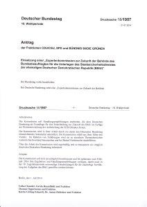 Einsetzungsantrag und Aufgaben - Ausriss http://dip21.bundestag.de/dip21/btd/18/019/1801957.pdf
