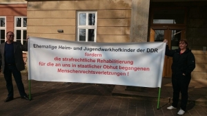 Auch die Anliegen der Jugendwerkhofinsassen wurden vertreten. Foto: Adler
