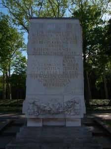 Auch an die Befreiung der Krim wird in Treptow erinnert - Foto: LyrAg