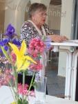 Auch Tatjana Sterneberg , Vorsitzende des ersten Fördervereins, brachte sich in die Diskussion ein - Foto: LyrAg