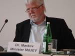 Justizminister Dr. Markov Fotos: LyrAg