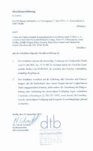 Kostspielige Diffamierung: Sogen. Abschlußerklärung der UOKG vom 24.08.2015