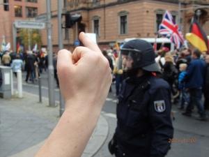 Meinung? Viele ware erschrocken über den gezeigten Hass gegen die Demonstranten - Foto: LyrAg
