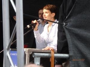 Frauke Petry: Nur missverständliche Wortwahl? - Foto: LyrAg