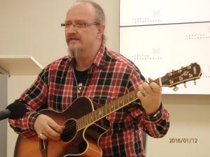 Detlef Jblonski sorgte für die eindrucksvoll musikalische Umrahmung - Foto: LyrAg