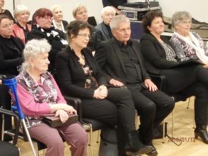 Auch Roland Jahn und Ulrike Poppe waren der Einladung gefolgt (v.li. n-re.): Zeitzeugin Matz-Donath, Poppe, Jahn, Stark u. Sterneberg - Foto: LyrAg