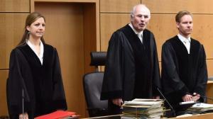 Berufung verworfen: LG Darmstadt, Vorsitzender Richter Volker Wagner (Mi.)