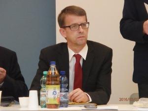 Jes Möller, Präsident des Verfassungsgerichtes von Brandenburg, auf der UOKG-Veranstaltung - Foto: LyrAg