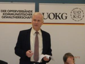 Seit Oktober 2015 Vorsitzender: der CDU-Politiker: Dieter Dombrowski (CDU) - Foto: LyrAg