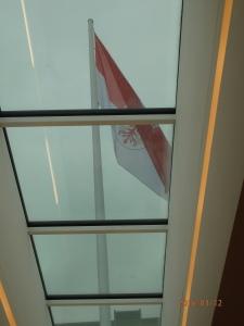 Erstmals unter der Fahne Brandenburgs fand am vergangenen Wochenende die Mitgliederversammlung der UOKG statt. Foto: LyrAg