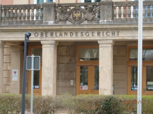 Gerichte in Deutschland: Mit der angestrebten Gerechtigkeit überfordert? Bild: Das OLG Brandenburg - Foto: LyrAg