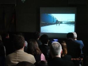 Ca. 60 Gäste sahen die beeindruckende Dokumentation über die Deportation vor 72 Jahren - Foto.LyrAg