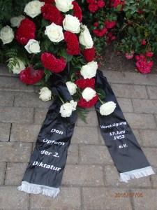 Den Opfern der zweiten Diktatur - Foto: LyrAg