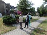 Die Vereinigung 17.Juni (Berlin) legte am Donnertag am Gedenkstein ein Blumengebinde nieder - Foto: LyrAg