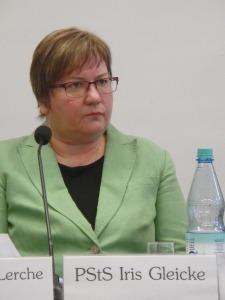 Sah sich heftiger Kritik für ihre Ankündigung ausgesetzt, die ergebnisse des Kongresses zu prüfen. Iris Gleicke - Foto: LyrAg