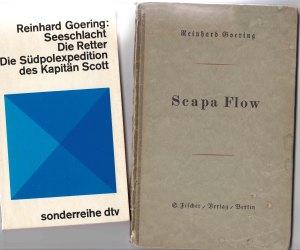 1966 verlegtes dtv-Taschenbuch (li.) und S.Fischer-Verlag Berlin 1919