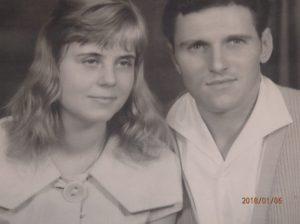 Der Zukunft zugewandt: Gerd mit seiner Frau 1960